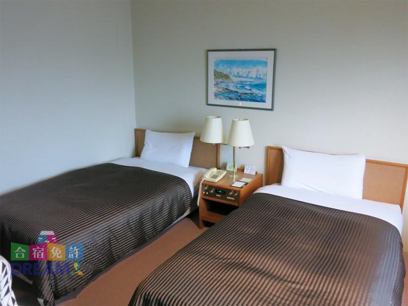 ホテルコンコルド浜松 ツインルーム
