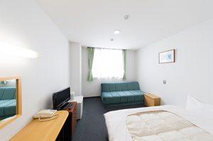 学校敷地内に併設の完全女性専用の宿泊施設 シングルルーム