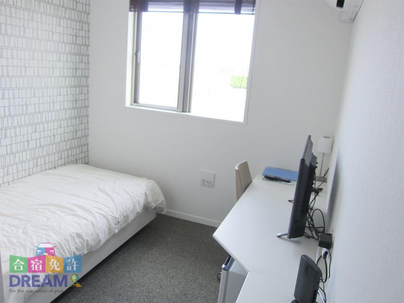 2017年完成の専用宿舎「PALM HOUSE」 シングルルーム