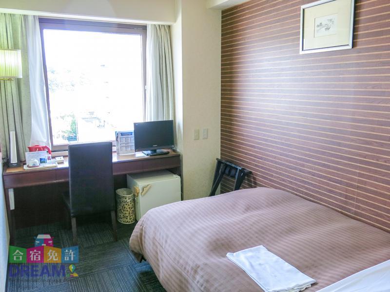 「ホテルサン人吉」シングルルーム