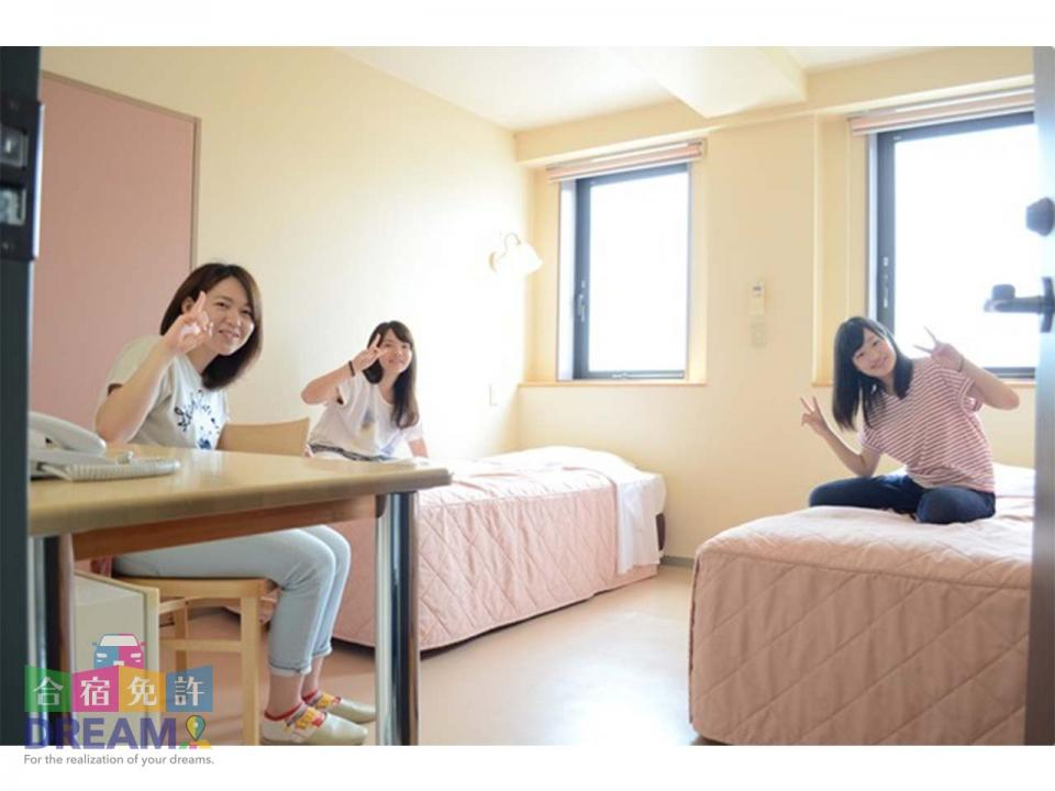 宿泊施設の様子