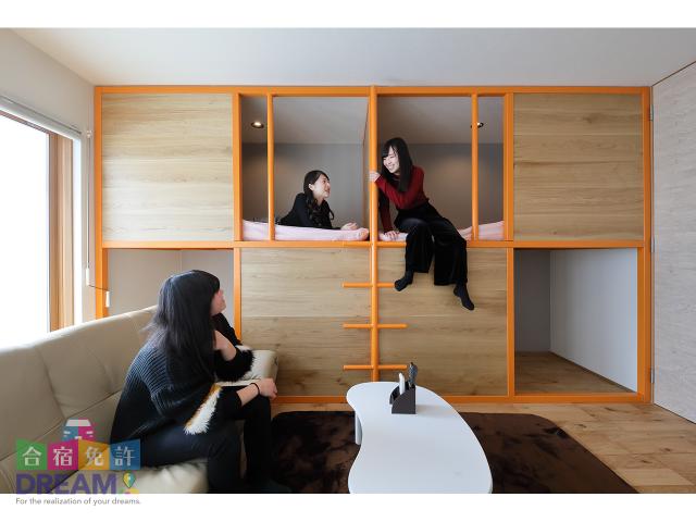 2018年2月に女性専用宿舎と食堂を新築